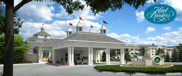 The Newly Renovated Hotel Breakers At Cedar Point Debuts This Spring 2015