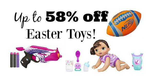 Up to 58 off on easter toysnerf furreal friends baby alive more still shopping for the perfect easter gift for your little one today only amazon is offering up to 58 off select easter toys im seeing nerf play doh negle Image collections