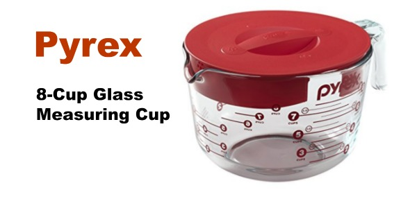 amazon pyrex prepware 8 cup glass measuring cup with lid. Black Bedroom Furniture Sets. Home Design Ideas