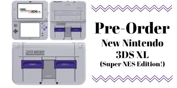 LOWEST PRICE GUARANTEE ~ Pre-Order New Nintendo 3DS XL