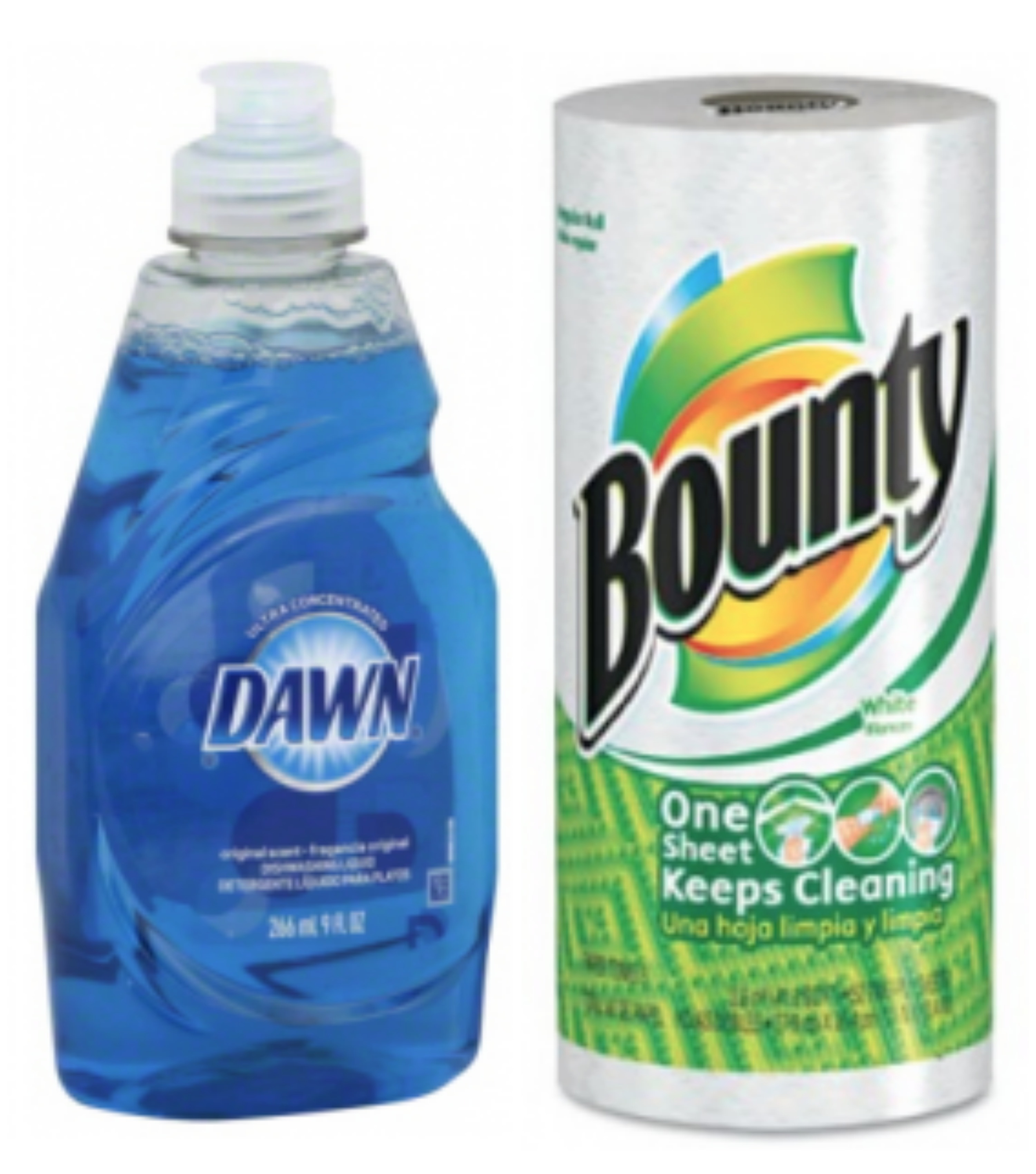 Walgreens Bounty Paper Towels 6 Pack Only 3 61 Free Dawn Dish Soap