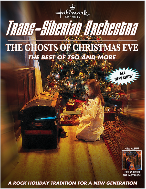Trans-Siberian Orchestra The Ghosts of Christmas Eve ~ Cleveland ...
