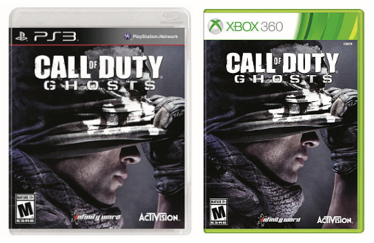 Toys R Us Only 1 Call Of Duty Ghosts For Sony Ps3 Or Xbox 360