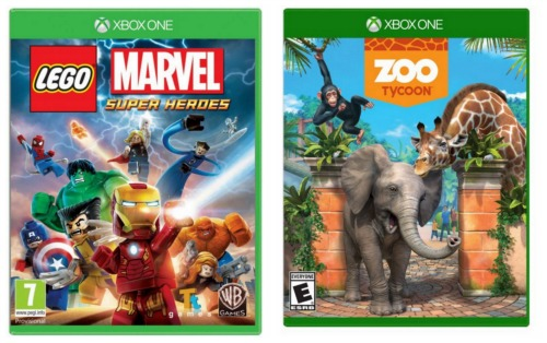 Lego Games For Xbox 1 : Hot deals on lego marvel zoo tycoon xbox one games