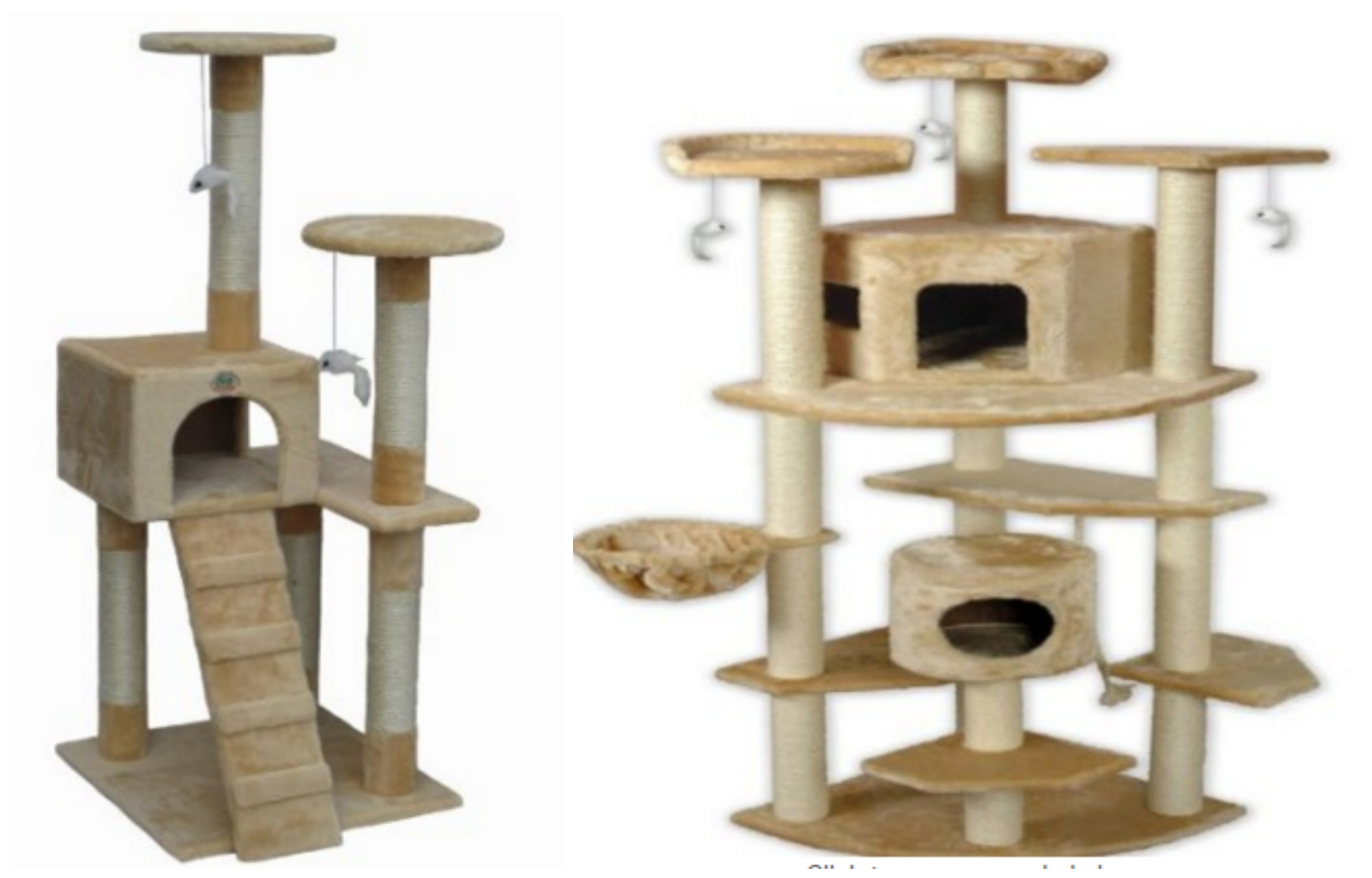 picmonkeycollagex - amazon go pet club cat trees ″ or ″ high