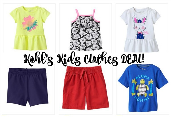 7fb166e39 Kohl's.com: Jumping Beans Kids Clothes as low as $1.80!