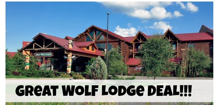 great wolf lodge deal FB