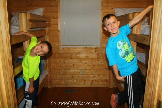 carowinds camp wilderness cabin review