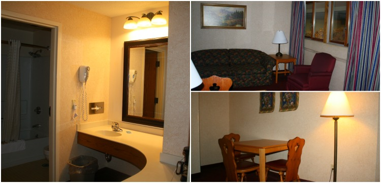 Bavarian Inn Lodge family room review