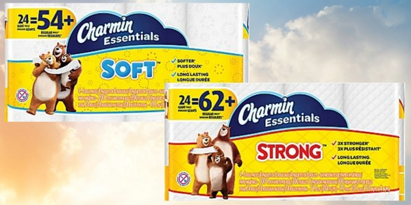 Staples Charmin Essentials Soft Or Strong Toilet Paper 24
