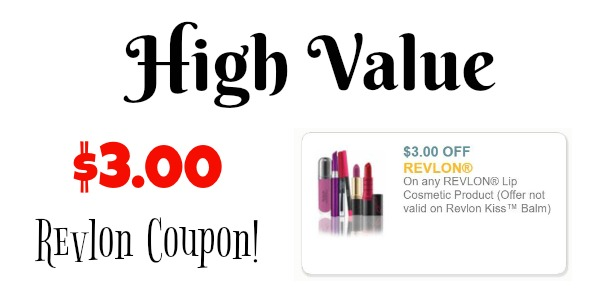 graphic relating to Printable Cosmetic Coupons referred to as Very hot* $3/1 Revlon Lip Beauty Printable Coupon + Bargains