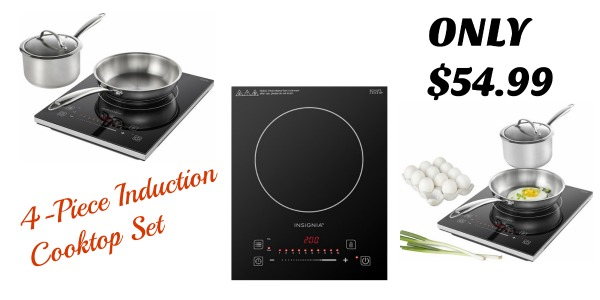 Insignia 4 Piece Induction Cooktop