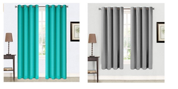 Amazon 2 Panel Insulated Blackout Drapes 3 Sizes As Low 1025 A