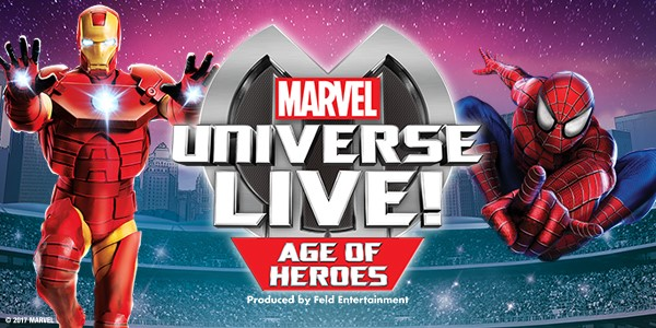 GIVEAWAY~ Win VIP Tickets to Marvel Universe Live! In ...