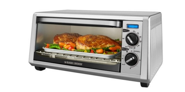 Best Buy: Black & Decker 4-Slice Toaster Oven ONLY $19.99 (Reg. $49.99 ...