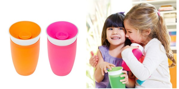Amazon Munchkin Miracle 360 Sippy Cup Pink Orange 10