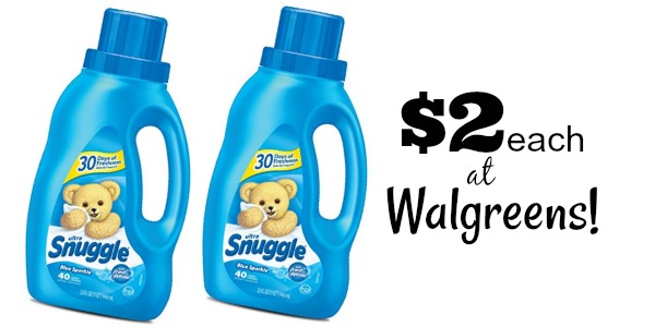 image regarding Snuggle Coupons Printable named $2.00 Snuggle Material Softener at Walgreens with Contemporary