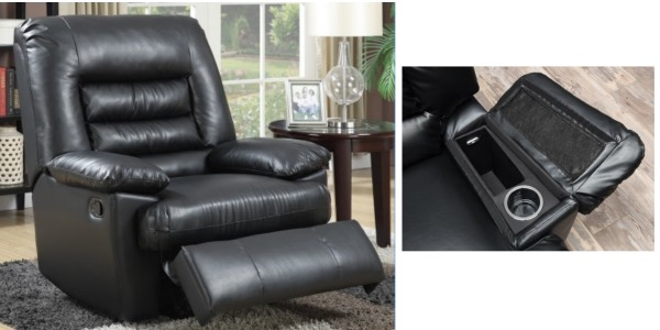 walmart is offering up this black serta big u0026 tall memory foam massage recliner for only 199 reg 299 shipped canu0027t wait