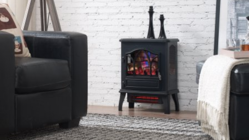 Walmart Chimney Free Electric Stove Heater Only 39