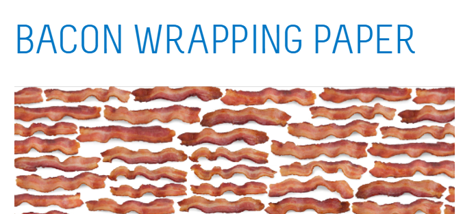bacon wrapping paper Bacon wrapped sausages is an easy and quick breakfast or appetizer recipe that is packed with flavor and cool the bacon for five minutes on paper towels.