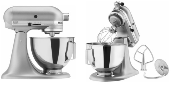 Best Buy: KitchenAid Silver Metallic Tilt Head Stand Mixer ONLY $189.99  (Reg. $400) Shipped