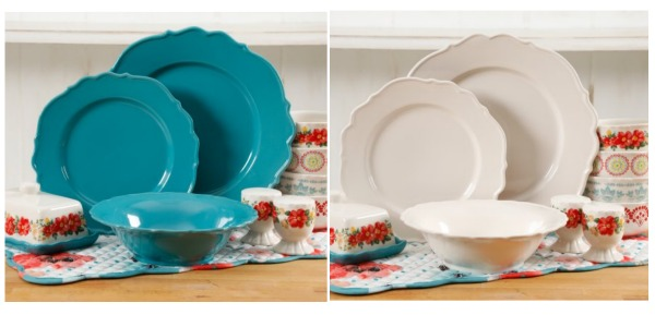 Walmart: The Pioneer Woman Vintage Ruffle 20-Piece Dinnerware Sets ...