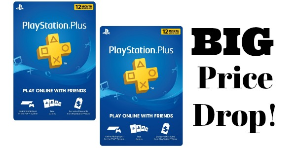 HOT** Playstation Plus 1-Year Membership Only $39 99 (reg  $60)