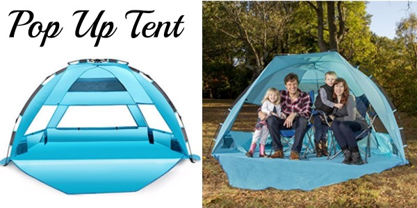 Amazon is offering up this Extra Large Pop Up Beach Tent UPF 50+ for just $49.99 (reg. $170) shipped saving you 71%.  sc 1 st  Couponing with Rachel & Amazon: Extra Large Pop Up Beach Tent UPF 50+