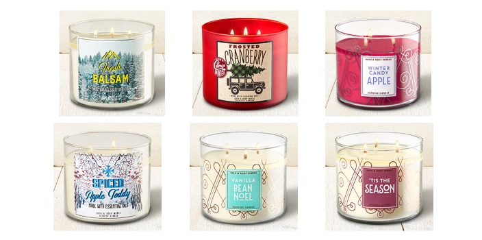 Bath Amp Body Works 3 Wick Candles As Low As 9 75 Each Reg