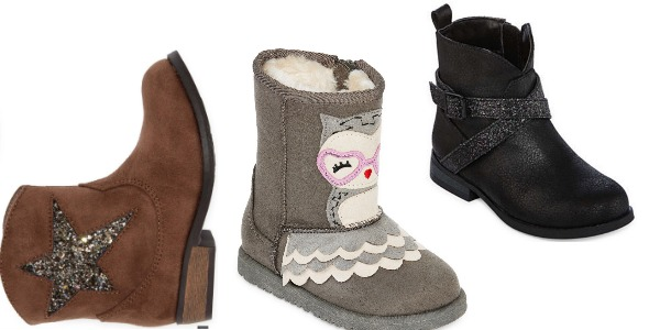 16420bd3c7d7 JCPenney  Girl s Boots ~ Buy One Pair + Get TWO FREE Pairs (as low as  9.67  each)