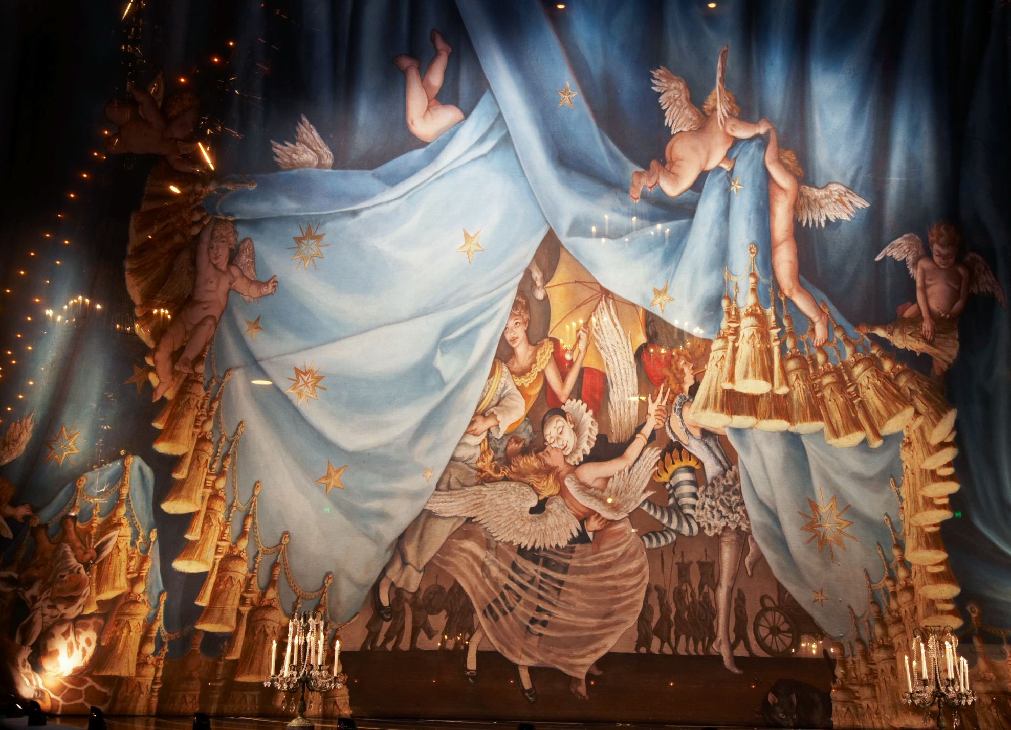 cirque du soleil corteo review in cleveland through november 18th. Black Bedroom Furniture Sets. Home Design Ideas