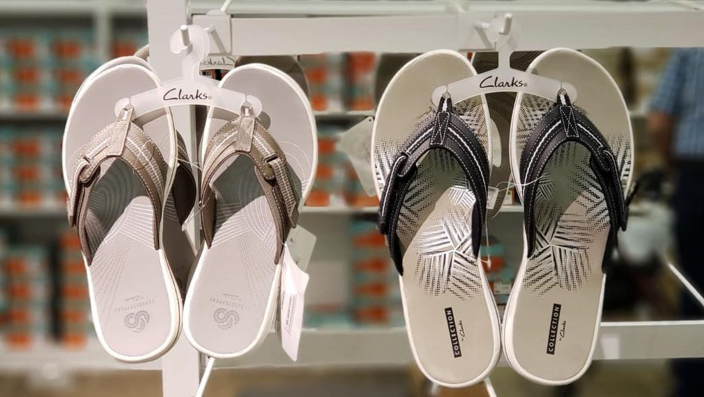 HIGHLY RATED Clarks Women's Breeze Sea Flip-Flops 50% Off + Free Shipping!