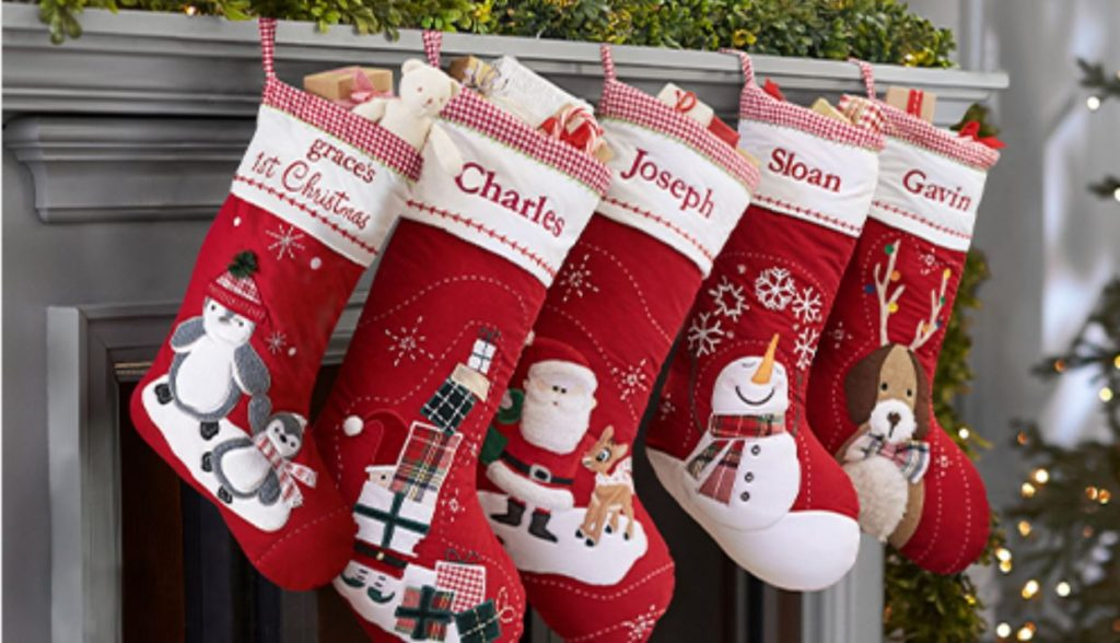 Pottery Barn Kids Personalized Christmas Stockings As Low As 5 99 Free Shipping Reg 19