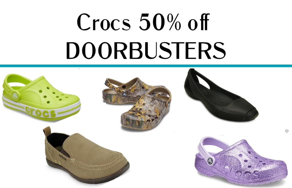 Crocs Cyber Monday Sale is Live – Save