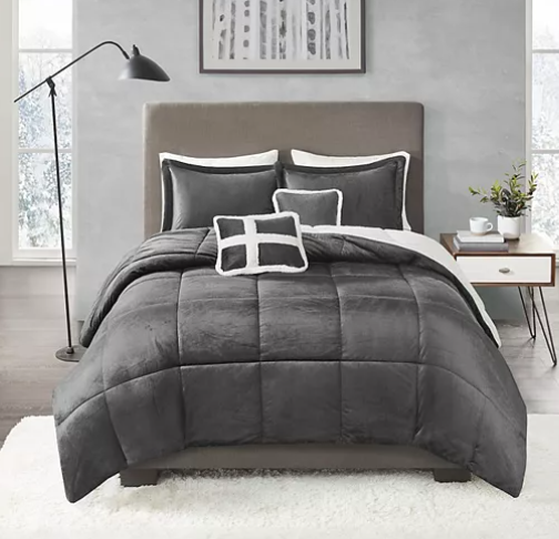 True North Mink Comforter Sets As Low As 34 At Kohl S Includes Pillows